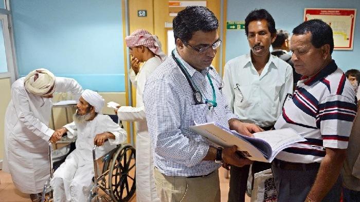 استقبال گردشگران عمانی از بیمارستانهای هند