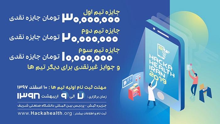 دومین ماراتن برنامه نویسی موبایل در حوزه سلامت (هکاهلث ۲۰۱۹)