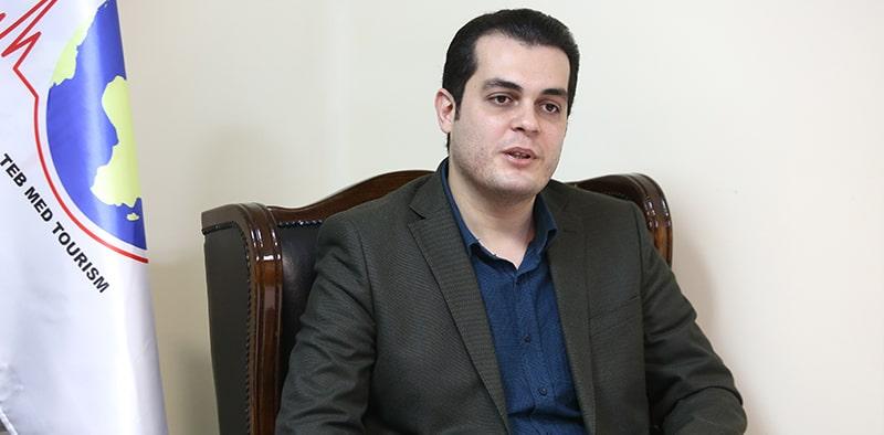 دکتر علی بزازی مدیرعامل شرکت طب مدتوریسم