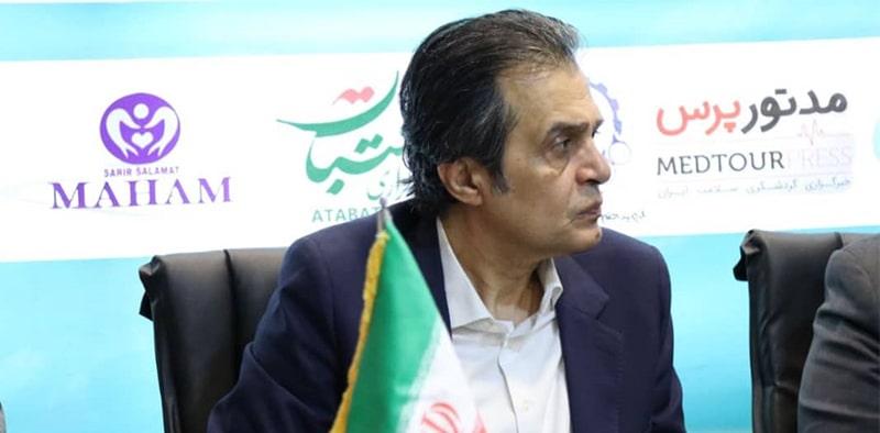 ساسان مومنی مشاور ارشد نمایشگاه بغداد