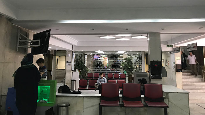 گزارش تصویری از بیمارستان توس
