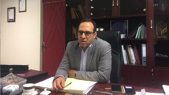 دکتر توکلی معاون درمان دانشگاه علوم پزشکی ایران