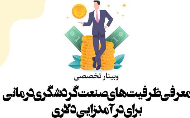 وبینار تخصصی معرفی ظرفیتهای گردشگری درمانی برگزار میشود