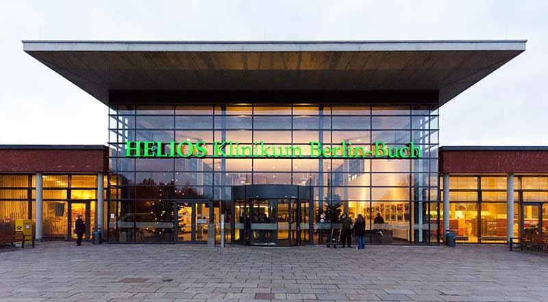 بیمارستان هلیوس در برلین آلمان.